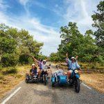 la Belle Echappée sidecar tour provence
