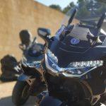 LA BELLE ECHAPPEE TAXI MOTO